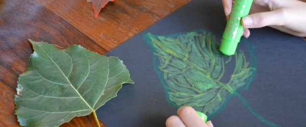 Kwik Stix Fall Art for Kids