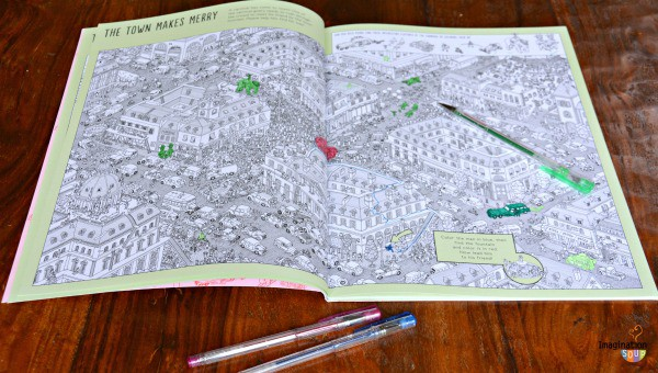 Pierre the Maze Detective Coloring Book