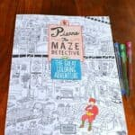 Pierre the Maze Detective Coloring Book