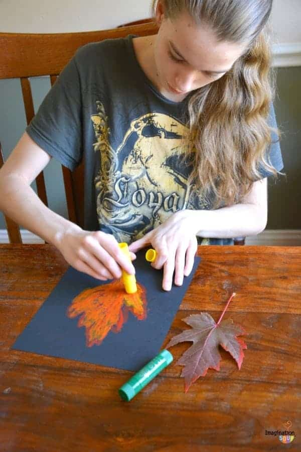 Kwik Stix Fall Art Ideas for Kids