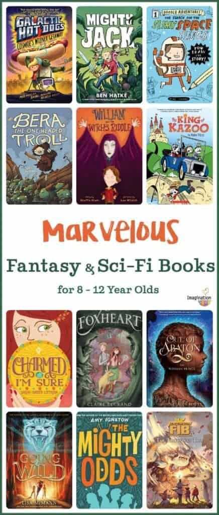 marvelous fantasy and science fiction books that will get your kids reading