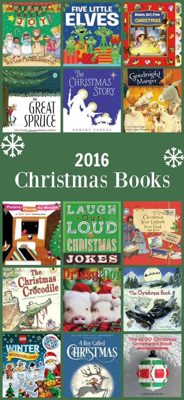 2016 Christmas picture books