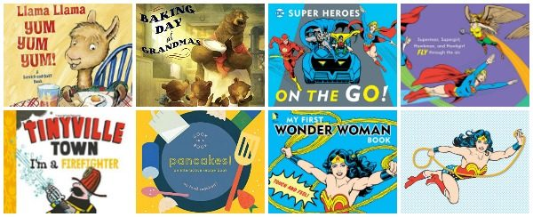 Exciting New Board Books 2016