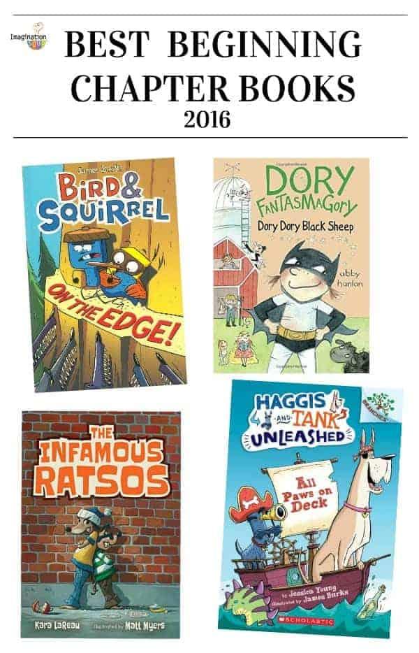 best beginning chapter books 2016