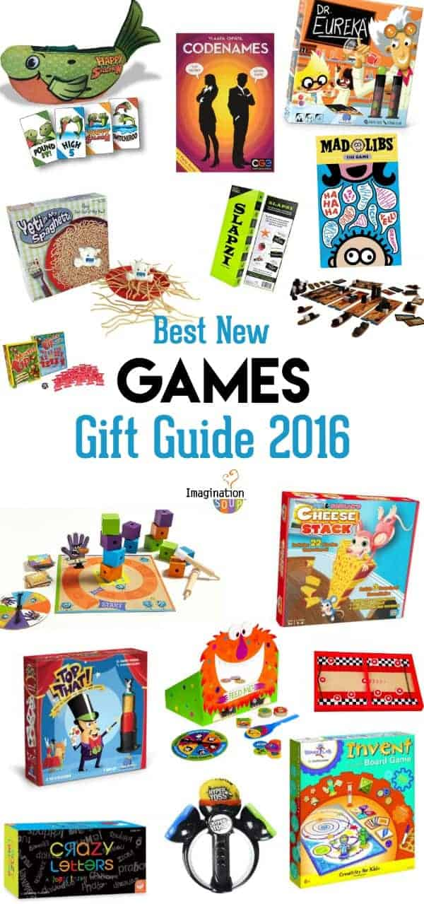 Games and Puzzles Holiday Gift Guide for Kids 2016!