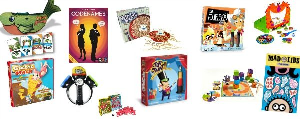 Games & Puzzles Holiday Gifts for Kids 2016