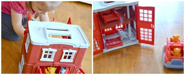 great gifts for kids 3 4 5 6 New Green Toys Playsets Farm and Fire Station