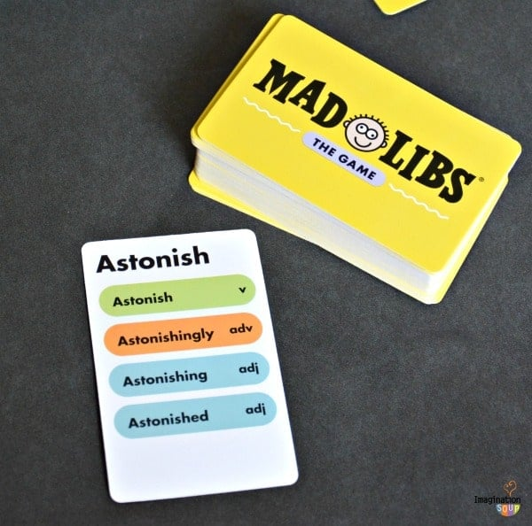 review of Mad Libs: The Game
