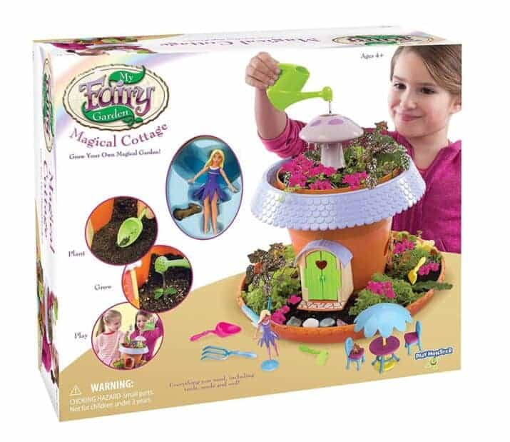 Grow Your Own Fairy Garden: My Fairy Garden Cottage Playset
