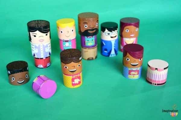 MyFamilyBuilders Diverse Character Building Blocks