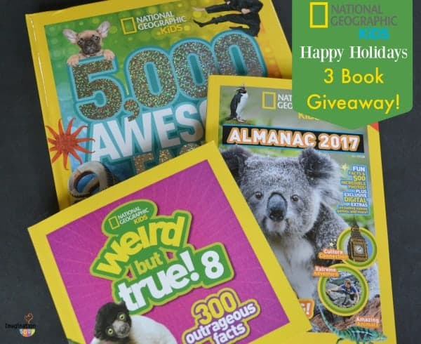 Holiday Gifts From National Geographic Kids (+ 3 Book Giveaway)