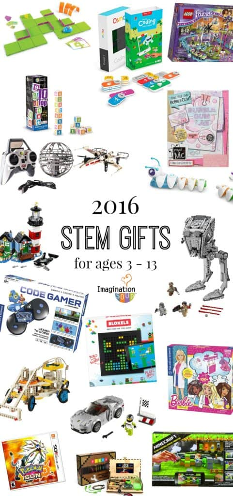 STEM Holiday Gift Guide for Kids 2016
