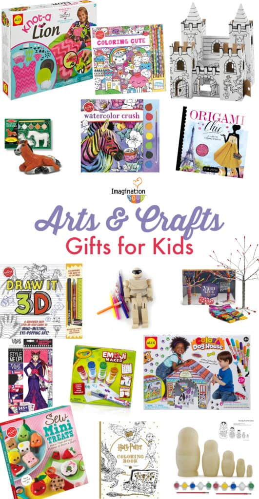arts and crafts gift guide for children