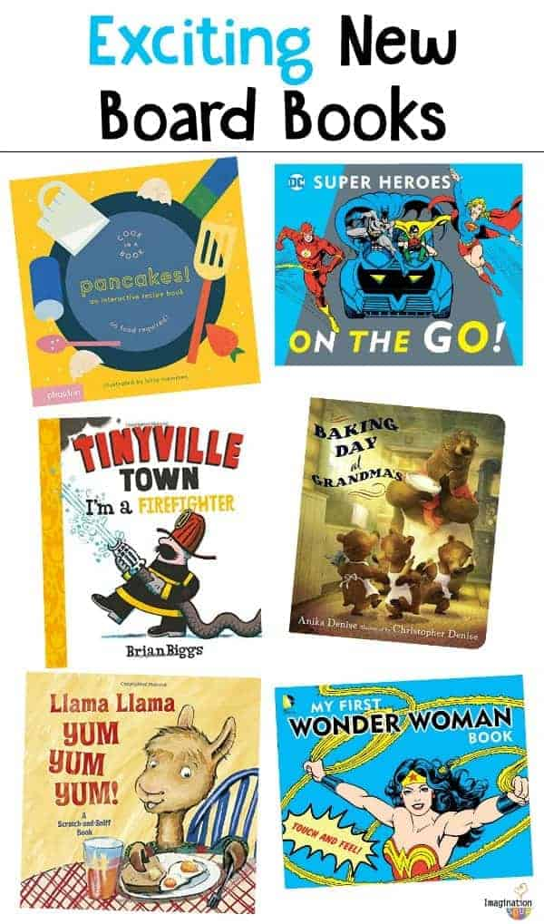 excited about these new board books -- so engaging and fun!