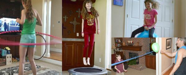 keep kids active with these fun indoor activities