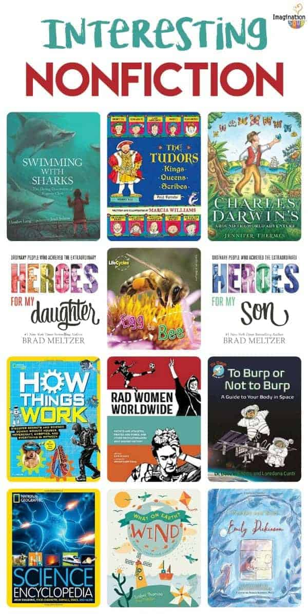 interesting nonfiction books for kids