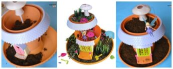 make your own fairy garden DIY Kit Playset