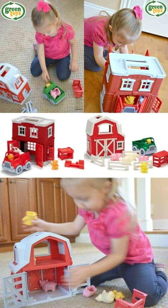 NEW! Love these playsets from Green Toys -- so great for open-ended play