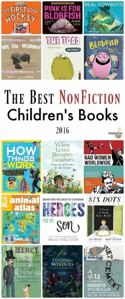list of the best nonfiction children's books of 2016