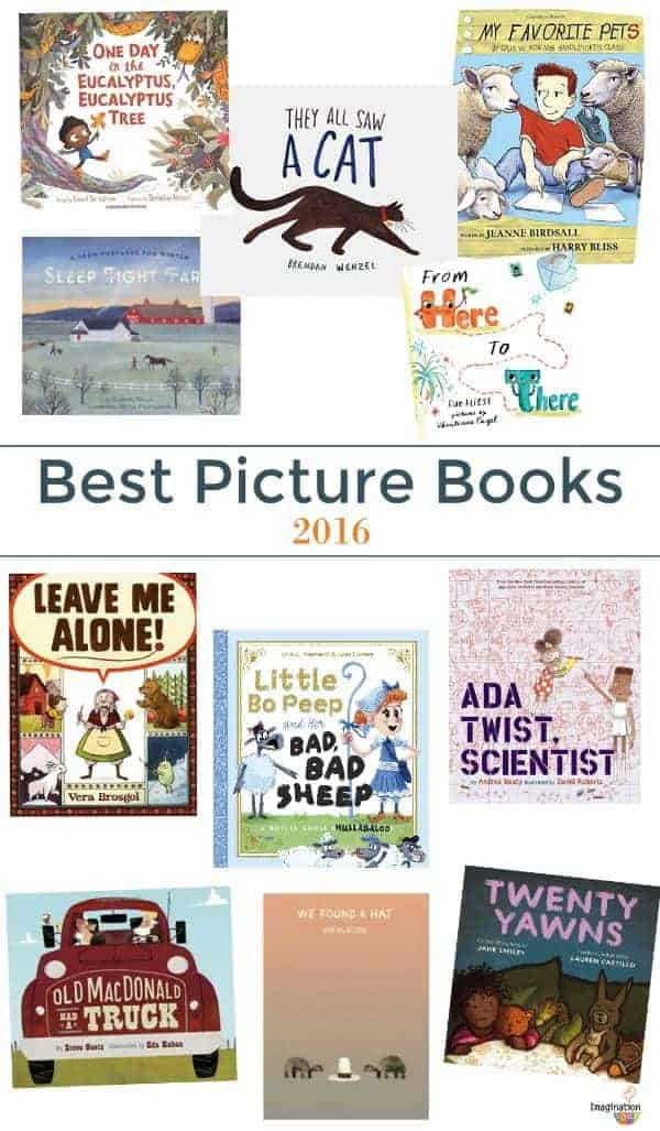 best children's picture books of 2016