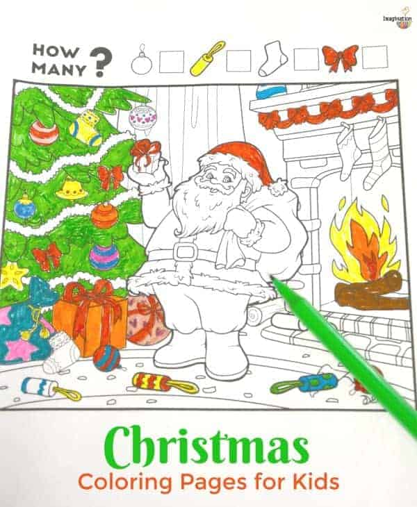 2 Fun Christmas Coloring Printables for Kids