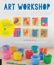 Art Workshop for Children book review and activity