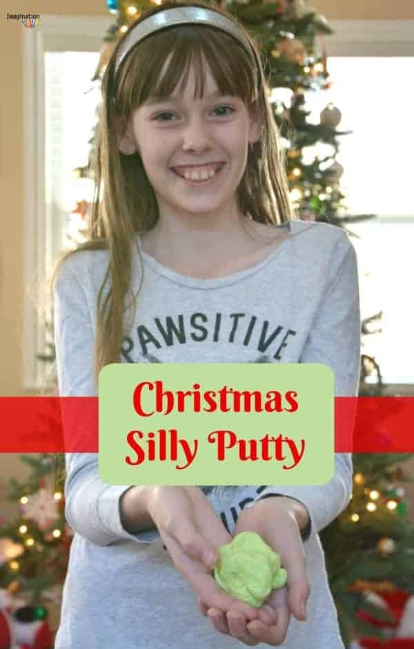DIY Christmas Silly Putty
