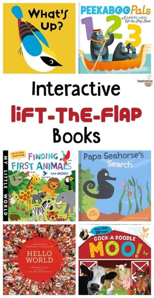 NEW Lift-the-Flap Books for Kids -- so engaging!