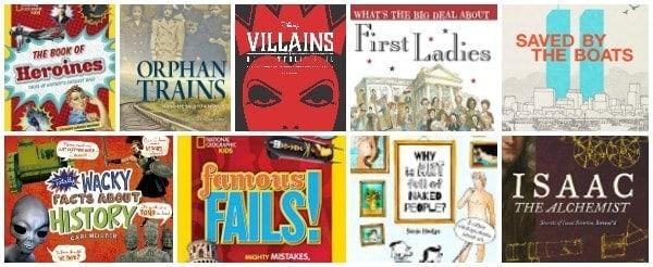 Interesting Informational Books for Kids nonfiction children's books