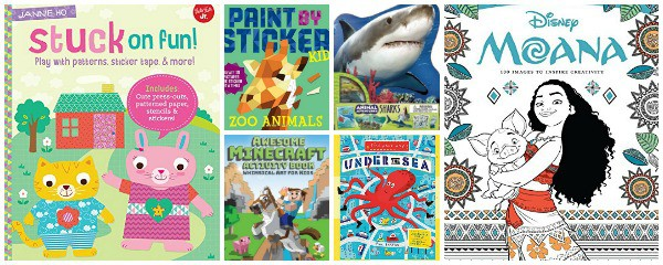 activity books for kids to beat boredom