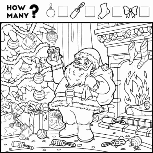 2 Fun Christmas Coloring Printables for Kids Imagination Soup
