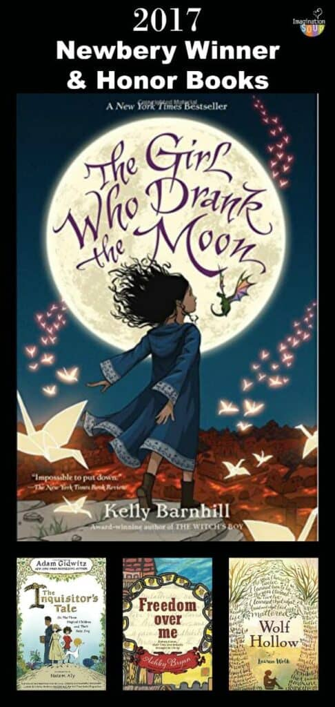 2017 Newbery Children's Book Award Winner Plus Honor Books!!