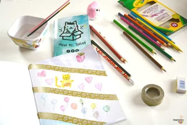 Art Subscription Kit for Kids Think With Art