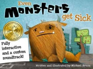 Even Monsters Get Sick Good Storybook Apps for Toddlers, Preschoolers, and Early Elementary Kids