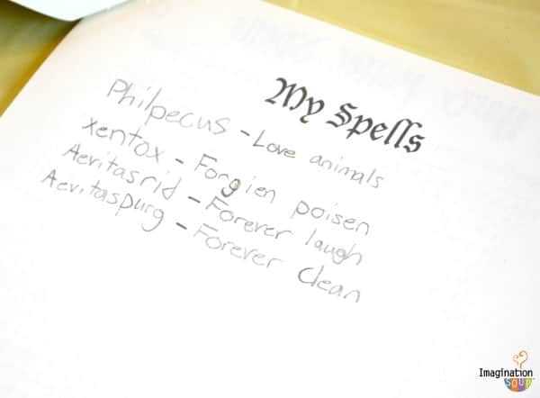 Harry Potter Spells Latin Words