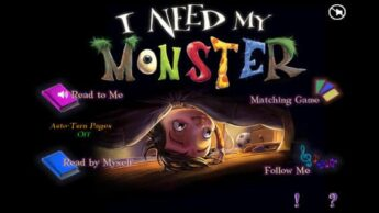I NEed My MOnster app Good Storybook Apps for Toddlers, Preschoolers, and Early Elementary Kids