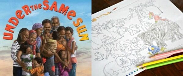 Multicultural Kids Picture Book About Family and Africa