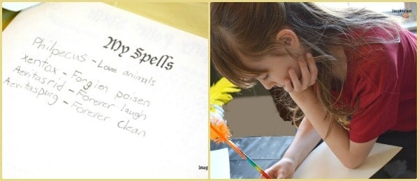 Write Your Own Harry Potter Spells