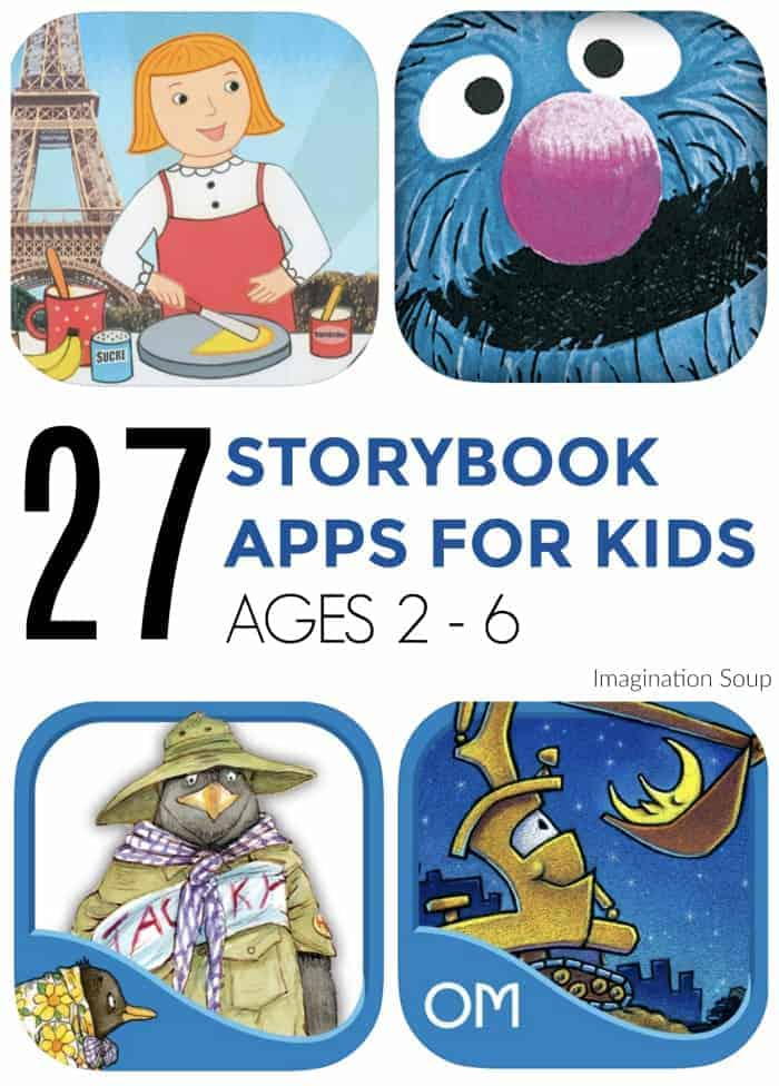 best storybook digital apps for preschoolers