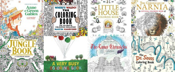 The Coolest Coloring Books Based On Childrens