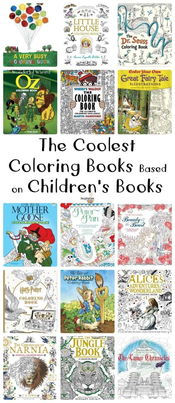 Coolest Coloring Books Based On Childrens