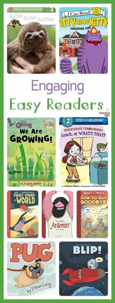 engaging easy readers for growing readers