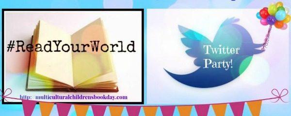 Multicultural Children's Book Day Twitter Party #ReadYourWorld