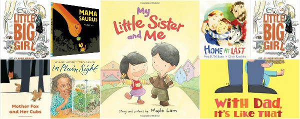 picture books about families