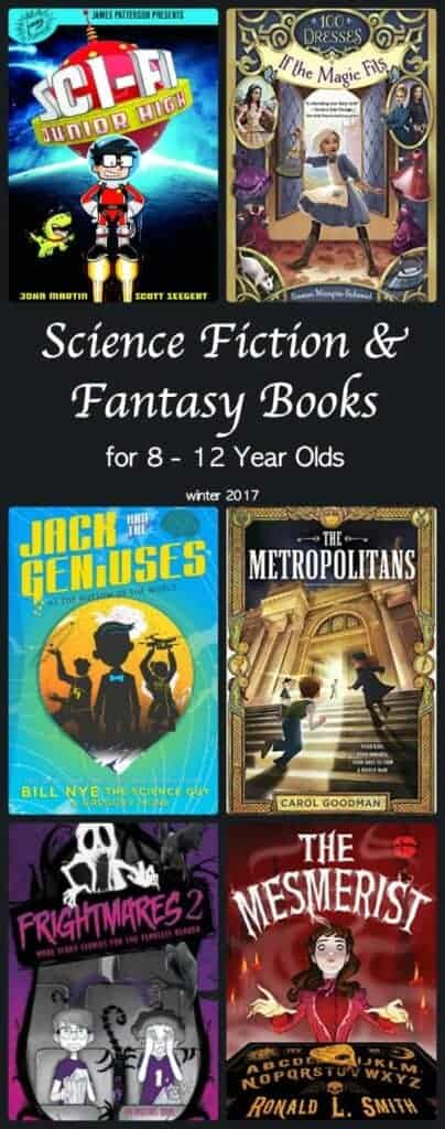 6 Fantasy and Science Fiction Books Winter 2017