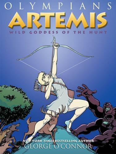 Artemis- Wild Goddess of the Hunt What's New in Graphic Novels for Kids