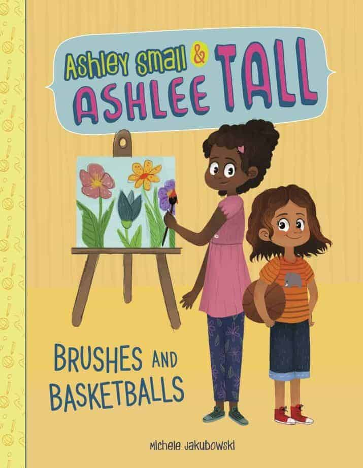 Ashley Small & Ashlee Tall Brushes and Basketballs easy beginning early chapter books 8 year olds