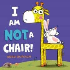I Am NOT a Chair by Ross Burach Funny Picture Books Books