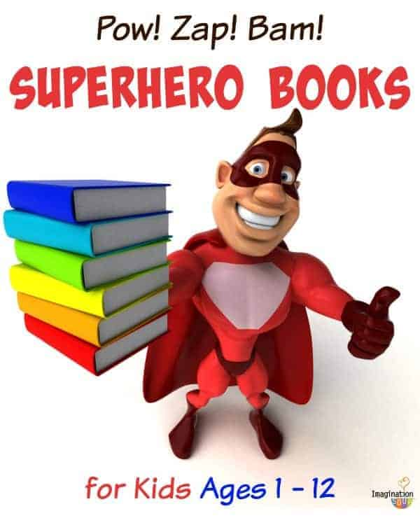 LEGO DC, DC, Marvel, and MORE Superheroes in awesome books for kids