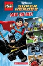 Save the Day- LEGO DC Super Heroes Comic Reader Out of This World Superhero Books for Kids